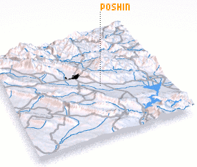 3d view of Pōshīn