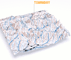 3d view of Tsamadoy