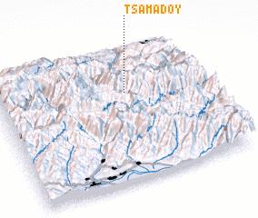 3d view of Tsamadoy