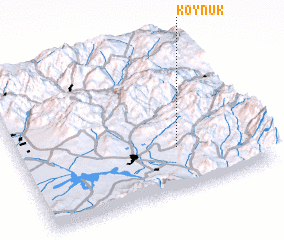 3d view of Köynük
