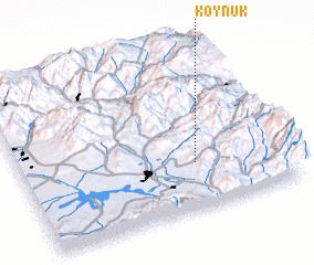 3d view of Köynük