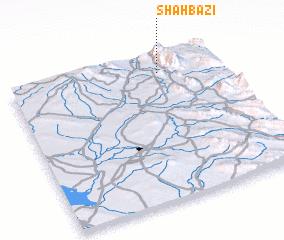3d view of Shāhbāzī