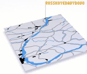 3d view of Russkoye Davydovo