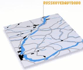 3d view of Russkoye Davydovo