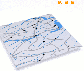 3d view of Bykovka