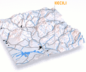 3d view of Keçili
