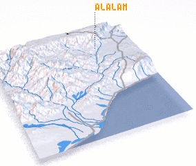 3d view of Al 'Alam