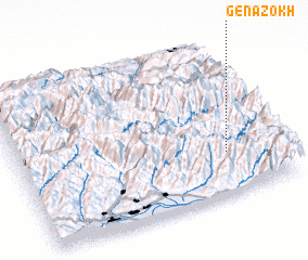 3d view of Genazokh