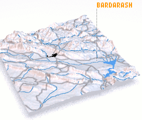3d view of Bardarash