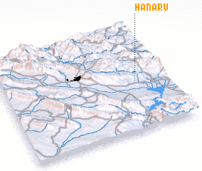 3d view of Hanarū