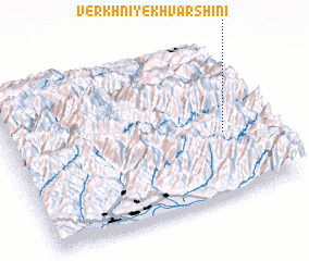 3d view of Verkhniye Khvarshini