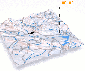 3d view of Kaolos