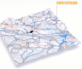 3d view of Kānī Spīkah