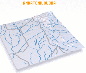 3d view of Ambatomiloloha