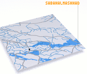 3d view of Şabāḩ Āl Mashhad
