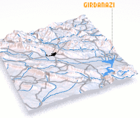 3d view of Girdanāzī