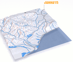 3d view of Jaḩḩayn