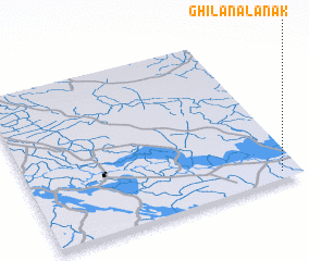 3d view of Ghīlān Āl 'Anak