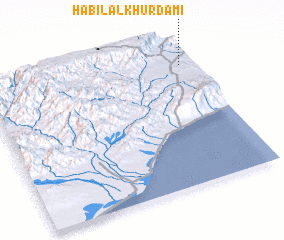 3d view of Ḩabīl al Khurdamī