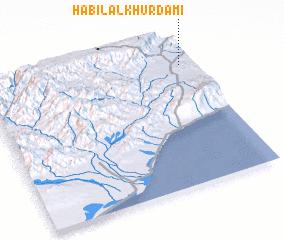 3d view of Ḩabīl al Khurdamī