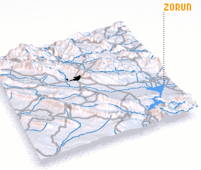 3d view of Zorun