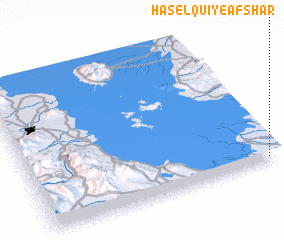 3d view of Ḩāşel Qū\
