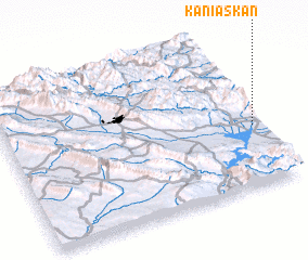 3d view of Kānī Askān