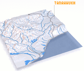 3d view of Tanawwukh