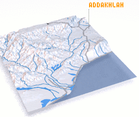 3d view of Ad Dakhlah
