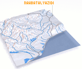 3d view of Nawbat al Yazīdī