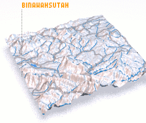3d view of Bināwah Sūtah