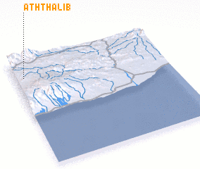 3d view of Ath Thalib