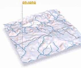 3d view of Anjana