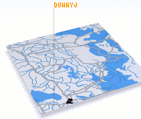 3d view of Duwayj