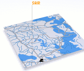 3d view of Sā'ir