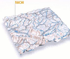3d view of Nachī