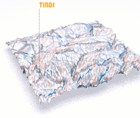 3d view of Tindi
