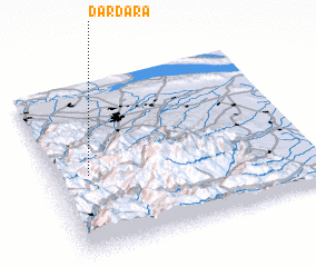 3d view of Dardǝrǝ
