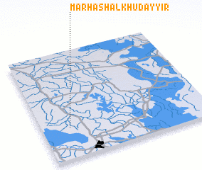 3d view of Marhash al Khuḑayyir