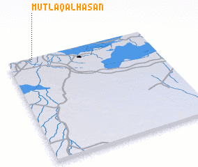 3d view of Muţlaq al Ḩasan
