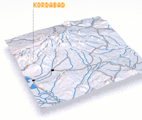 3d view of Kordābād