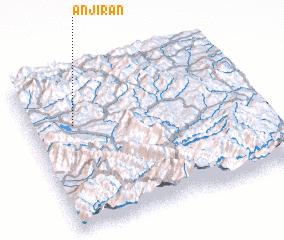 3d view of Anjīrān