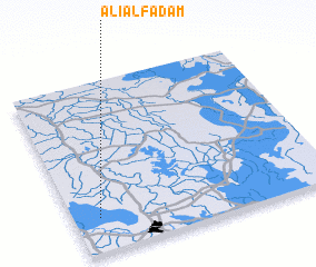 3d view of 'Alī al Fad'am
