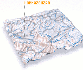 3d view of Hormazeh Zān