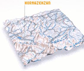 3d view of Hormazeh Zān