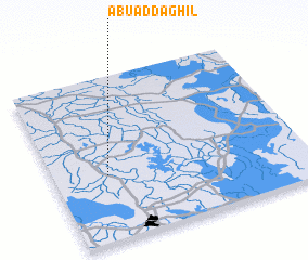 3d view of Abū ad Daghīl