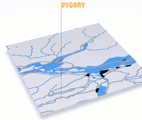 3d view of Vygony