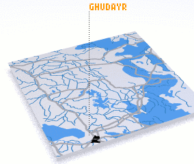 3d view of Ghudayr