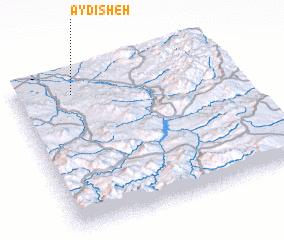 3d view of Āydīsheh