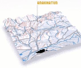 3d view of Ānā Khātūn